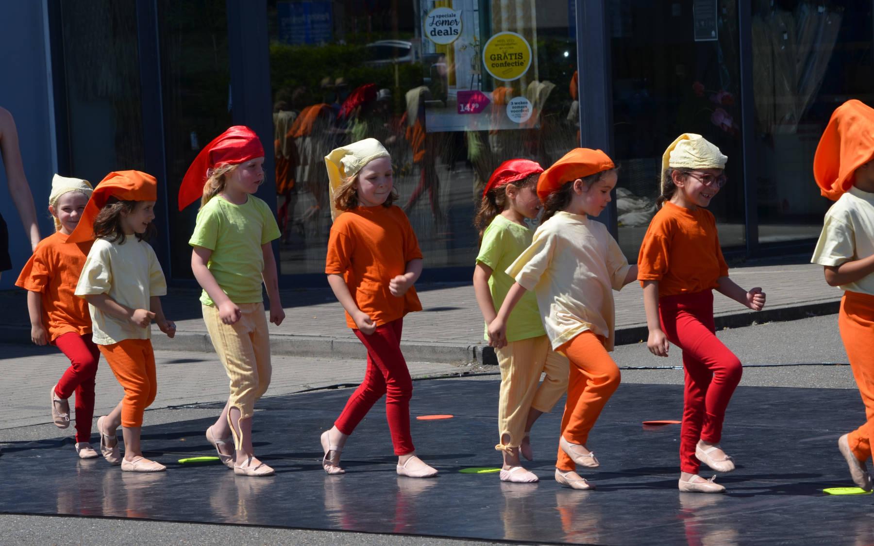 Kleuter ballet events bij Dansschool Marlynes