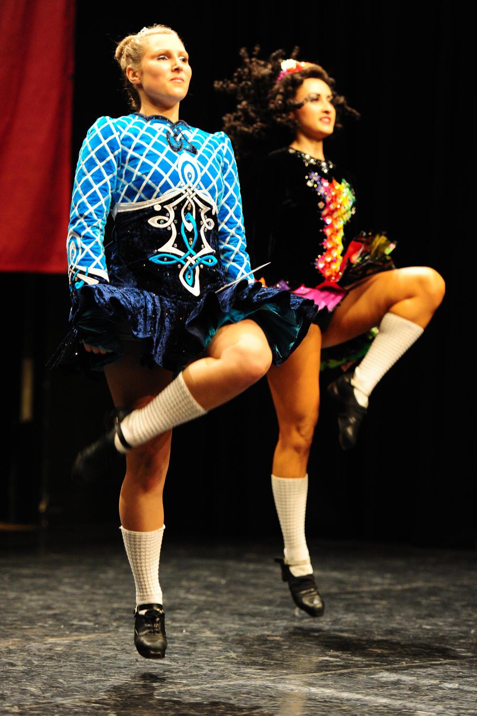 Ierse Danswedstrijd met Marlynes Irish Dancers